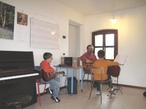 Lezione di chitarra con il Maestro Ivan Ziraldo
